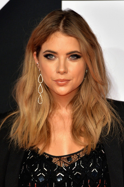 Ashley Benson Dangling Diamond Earrings