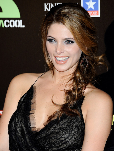 Ashley Greene Long Braided Hairstyle