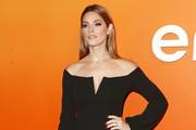 Ashley Greene Off-the-Shoulder Dress