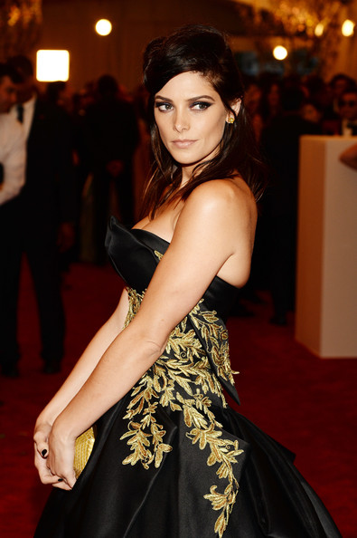 Ashley Greene Half Up Half Down