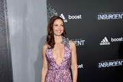 Ashley Judd Print Dress
