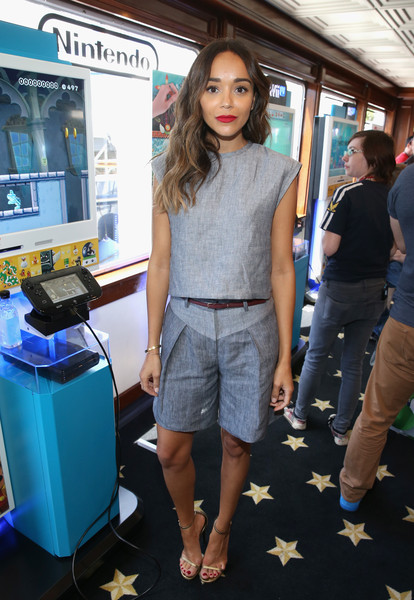 Ashley Madekwe Bermuda Shorts