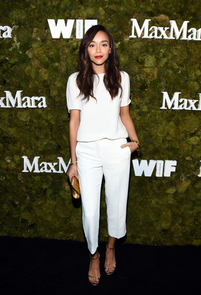 Ashley Madekwe Capri Pants