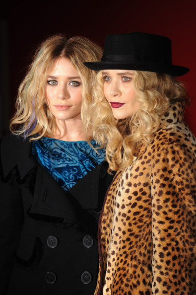 Ashley Olsen Suede Dress Hat