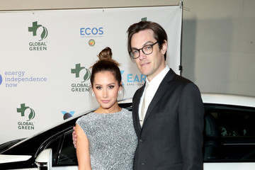 Ashley Tisdale Christopher French 15th Annual Global Green Pre Oscar Party