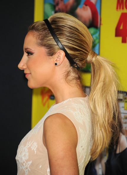 Ashley Tisdale Ponytail