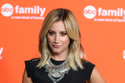 Ashley Tisdale Silver Statement Necklace