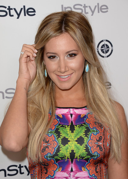 Ashley Tisdale Half Up Half Down