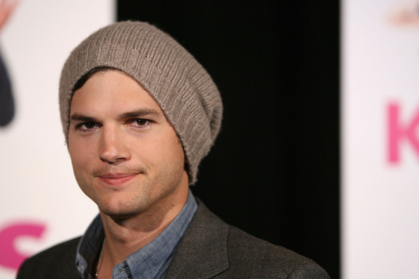 "Ashton Kutcher Hats. Ashton Kutcher arrives at the premiere of ""Killers"" at"