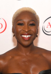 Cynthia Erivo sported bleached curls at the Hope Rising benefit.