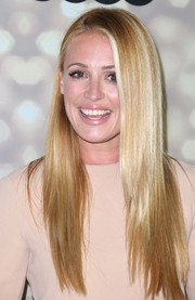 Cat Deeley would make a great shampoo commercial model with her shiny straight 'do.
