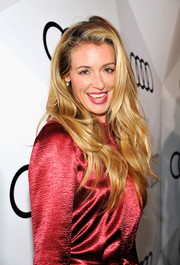 Cat Deeley was fabulously coiffed with this long layered cut during Audi's celebration of the Emmys.