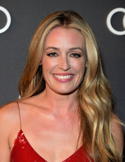 Cat Deeley wore her long waves down when she attended Audi's celebration of the Emmys.