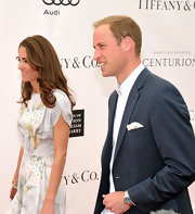 Prince William's hair looked freshly trimmed at the Foundation Polo Challenge.