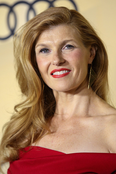 More Pics of Connie Britton Off-the-Shoulder Dress (1 of 11) - Off-the-Shoulder Dress Lookbook - StyleBistro
