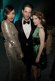 Iddo Goldberg was the epitome of a dashing young man with his impeccable bowtie and his arms around two gorgeous girls at the 6th Annual HEAVEN Gala After Party.