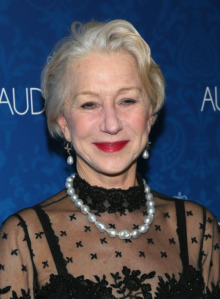 More Pics of Helen Mirren Messy Cut (1 of 26) - Short Hairstyles Lookbook - StyleBistro [the audience,hair,face,hairstyle,blond,eyebrow,chin,smile,premiere,helen mirren,broadway,new york city,urbo nyc,party,opening night,party]