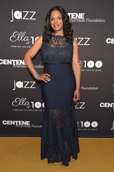 Audra McDonald Bandage Dress
