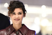 Audrey Tautou Curly Updo