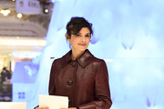 Audrey Tautou Leather Jacket