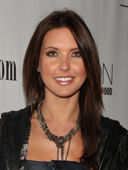 Audrina Patridge Gold Choker Necklace