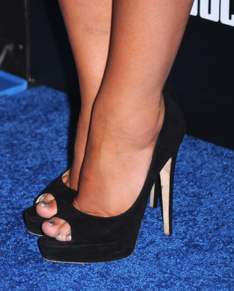 Audrina Patridge Peep Toe Pumps