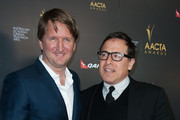Tom Hooper and David O. Russell Photo