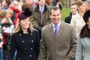 Autumn Phillips Pea Coat