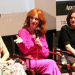 Elisabeth Moss and Christina Hendricks