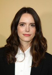 Stacy Martin sported a sweet wavy 'do at the BAFTA Breakthrough Brits reception.