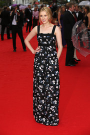Laura Carmichael looked darling in her Erdem floral gown during the BAFTA celebration of 'Downton Abbey.'