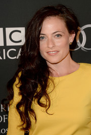 Lara Pulver sported a messy-chic side-sweep when she attended the BAFTA LA TV Tea.