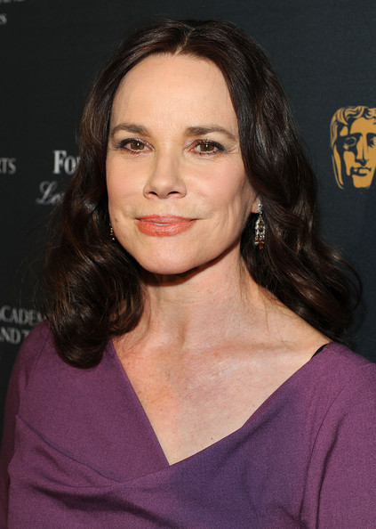 Barbara Hershey's Center Part