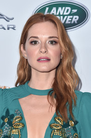 Sarah Drew looked lovely with her wavy 'do at the BAFTA Los Angeles + BBC America TV Tea Party.