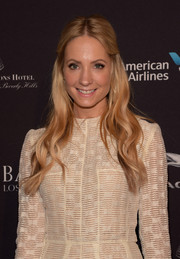 Joanne Froggatt sported a wavy half-up 'do that oozed retro charm during the BAFTA Los Angeles tea party.