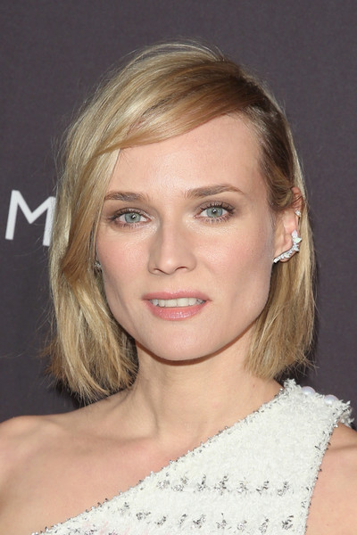 Diane Kruger's Relaxed Bob