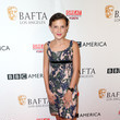 Millie Bobby Brown in Burberry at BBC America BAFTA Los Angeles TV Tea Party