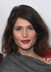 Gemma Arterton sported a tousled bob at the 'Watership Down' photocall.