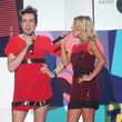 Nick Grimshaw and Mollie King