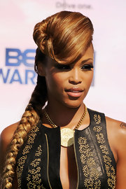 Eve wowed at the 2011 BET Awards with this sculpted braided updo.