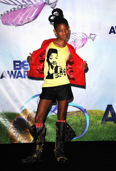 More Pics of Willow Smith Lace Up Boots (1 of 10) - Willow Smith Lookbook - StyleBistro []