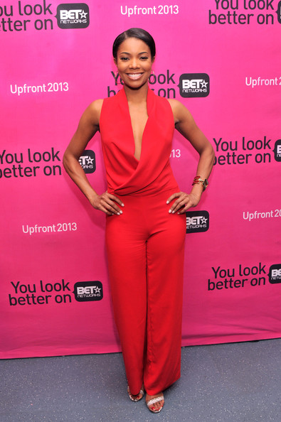 85b9ba388c8 More Pics of Gabrielle Union Jumpsuit (4 of 15) - Suits Lookbook -  StyleBistro