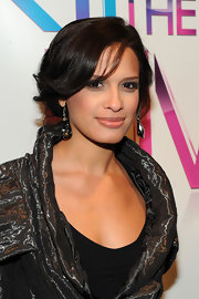 "Host of ""106 & Park""  Rocsi flaunted her short cropped curls. This hair cut is a big change from her previous long mane."