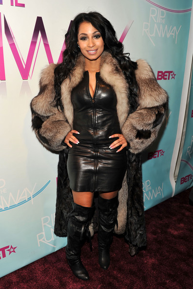 More Pics of Karlie Redd Knee High Boots (1 of 2) - Karlie Redd Lookbook - StyleBistro