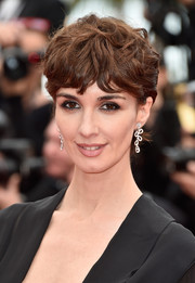 Paz Vega's signature bangs got the curly treatment for the Cannes premiere of 'The BFG.'