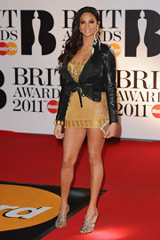 Alesha Dixon oozed sexiness all the way down to her silver strappy sandals at the 2011 Brit Awards.