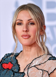 Ellie Goulding styled her hair into a romantic ponytail for the 2020 BRIT Awards.