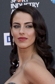 Jessica Lowndes rocked glamorous waves at the BT Sports Industry Awards.