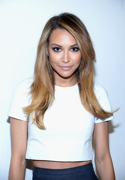 Naya Rivera attended the Michael Kors fashion show wearing a sexy layered 'do.