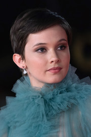 Cailee Spaeny looked oh-so-cute with her pixie at the Rome Film Fest screening of 'Bad Times at the El Royale.'